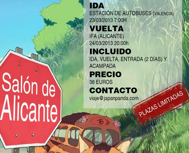 Viaje al III Salón del manga de Alicante