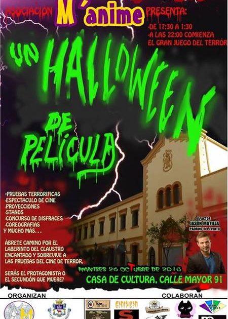 Hallowen de Pelicula – Manime – Manises 26/10/2013