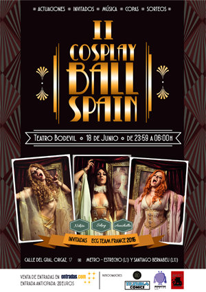 II Cosplay Ball Spain