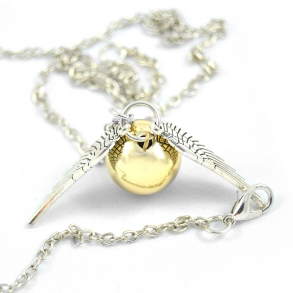 Colgante Harry Potter snitch dorada