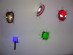 marvel lamparas