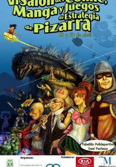 VI Salón del Cómic, Manga y Juegos de Estrategia de Pizzarra